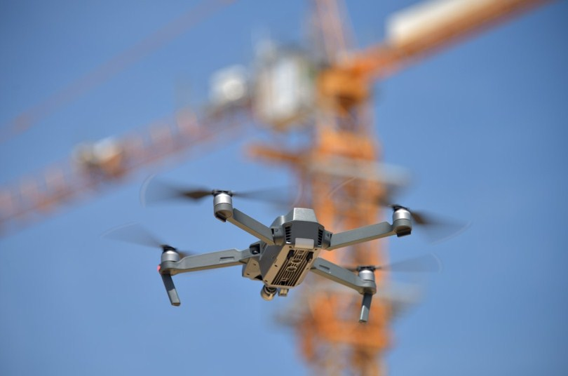 Drones for civil engineering
