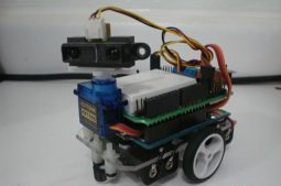 Virtual Workshops-Vision Based Obstacle Avoidance Robot